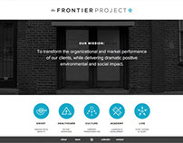 The Frontier Project website v3