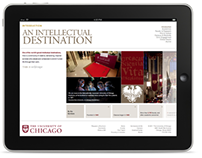 This is UChicago website