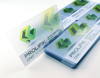 Prolifik CNC logo and Business Cards