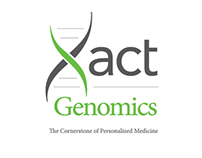 Xact Genomics Logo Design