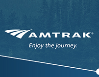 Amtrak visual identity system