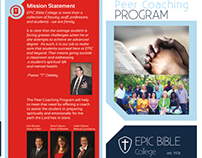 Peer Coaching Program Brochure