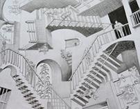 M. C. Escher's Relativity
