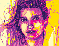 Contemporary Portraits - Digital Drawing #21
