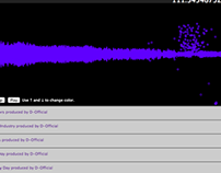 Chrome Experiment: Audio Player (Web GL)