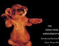 MGM Grand Lion Habitat Print Campaign