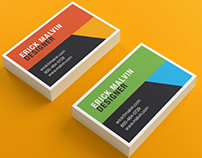 Business Cards Mock-up (8.5×5.5 cm)