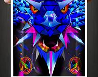 Poster Digital Art Photoshop