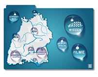 Multitouchtable Gewässer