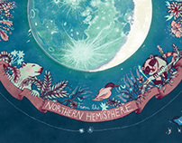 How do you see the moon? // Illustrative infographic