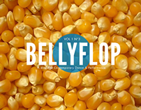 BELLYFLOP Magazine cover design (POP issue)