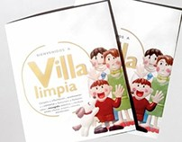 VILLA LIMPIA (plasticine illustration)