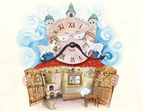 Book Illustrations - The Goats Mr Watchmaker