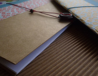 DIY sketchbooks- notebooks