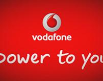 """Vodafone. Monopostes Digitales. """"Alégrame El Día"""""""