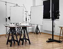 Make your own diffusion panels for studio photography