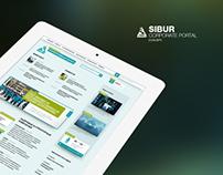 Sibur. Corporate portal