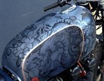 Yamaha S2 Bike design collaboration with D-Lucks