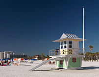 SP-26 Clearwater Beach Lifeguard Towers