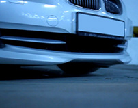 BMW e92 Animated Gif - Removing License Plate