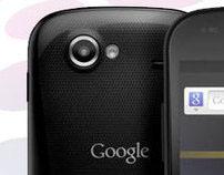 Samsung Nexus S landingspage