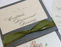 Floral Wedding invitato