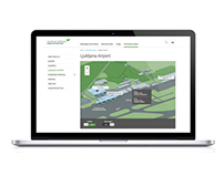 Ljubljana Airport Website & Mobile App