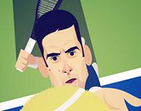 Novak Djokovic // Stan Chow