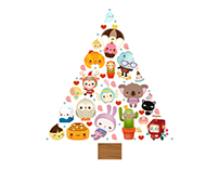 Christmas Tree for American Greetings, USA