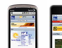 Weather Channel Mobile Web
