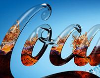 3D Coca Cola Logo