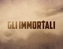 GLI IMMORTALI - clip animate serie Sky Arte