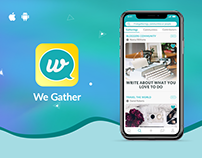 Gather Online - Social Media App