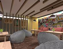 Board Games Playroom Proposal 01 in Ierapetra, Greece