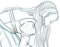 Kuhi Priestess Concept Art
