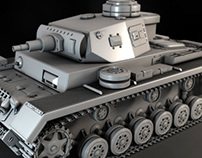 Modeling a High-Resolution Tank in 3ds Max