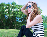 Spring Style Guide 2014- Creative Direction