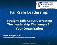 Fail-Safe Leadership: Straight Talk