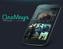 CineMaya app.