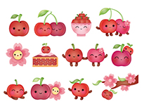 Cherry Stickers, Peaceable Kingdom, USA