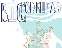 BigForehead Font Design
