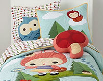 Bedding set, The Land of Nod, USA