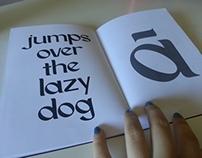 CAOS Typeface