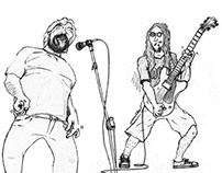 Cena do Rock em BH