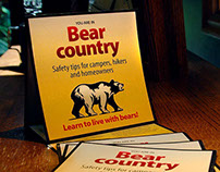 Bear safety campaign
