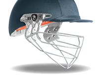 Albion Cricket Helmet, Face Shield Design