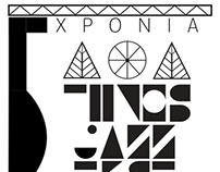 Re-design concept for Tinos Jazz Festival