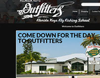 Outfitters Web Design