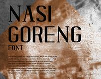 NASI GORENG Typeface