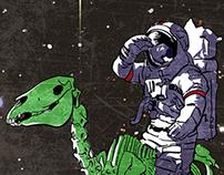 Global Okie - Astronaut Poster